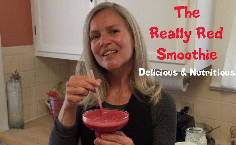 Elgielene, the Real Foods Girl, shares her recipe for the Really Red Smoothie