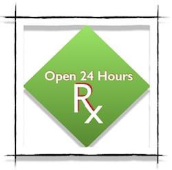 Your own 24 hour health store awaits.